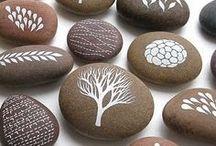 Pebble Art Rocks