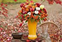 Autumn table settings