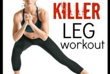 Butt & Legs Workouts / A variety of exercises targeting the glutes, hips, and thighs.
