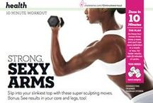Arms & Upper Body Workouts / Toned arms never go out of style...