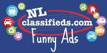 Funny Ads / A collection of entertaining listings from NL Classifieds.