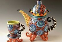 """Teapots I'd call my own / """"A Proper Tea is much nicer than a Very Nearly Tea, which is one you forget about afterwards.""""  ― A.A. Milne"""