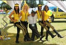 Cape #GetawayShow 2014 / We had a blast at the Cape Getaway Show 2014! Many friendly faces came and visited the Dunlop exhibition for free wi-fi, prizes and giveaways, 4x4 tyre specialists, promotional ladies, and tyre discounts and vouchers.