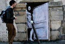 Art - Street Art / Urban art or vandalism? / by Meli