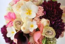 Hawaii's wedding bouquet / ハワイで私が製作したウェディングフラワー&ブーケ