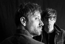 ♫Music♫The Black Keys / The Black Keys is an American rock duo formed in Akron, Ohio in 2001. The group consists of Dan Auerbach and Patrick Carney. / by Meli