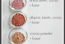 DIY Makeup Recipes / Why buy when you can make it at home? Open your pantry and create a brand new set of cosmetics with real ingredients