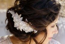 Bridal Hair & Makeup / You are amazing just the way you are, but flawless makeup and well- coiffed hair will make you shine on your wedding day. Get inspired! / by CALM Natural Skincare