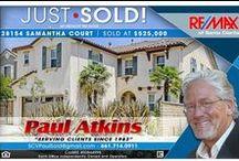 Get to know Paul Atkins / Southern California Real Estate- Remax of Santa Clarita Serving Santa Clarita and San Fernando Valley ScvPaulSold@Gmail.com