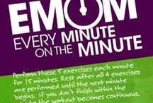 EMOM Workouts / EMOM: Every minute on the minute, resting if you finish early