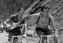 """""""Antigua usanza"""" old school cycling / fotos de cuando los ciclistas eran poco menos que héroes, Gino Bartali, Fausto Coppi, Eddy Merckx, Luis Ocaña..."""