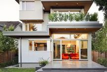 Large Homes / Beautiful houses with elegant interiors and exteriors.