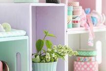 ✁ NÄHZIMMER ✁ / Tolle Ideen rund um Euer Nähzimmer haben wir hier auf dieser Pinnwand für Euch gesammelt! www.stoffe-hemmers.de diy ideas | sewing room | sewing | handmade