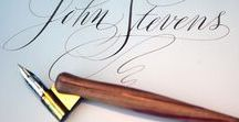 Calligraphy, Monogramming, Decorative lettering