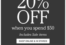 Printable and In-Store Coupons / Use these coupons in store to get great deals