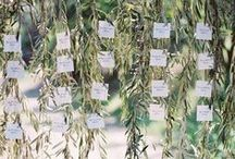 Inspiration {Seating charts} / by Little Gray Station - Wedding and Event Design
