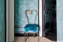 Wallpaper / by House Beautiful Magazine