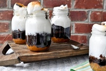 Food In Jars / There's nothing better than a thoughtful gift complete in a jar. Here are some fun food ideas to fill your jars.