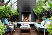 Cozy Fireplaces / by House Beautiful Magazine