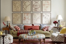 Art & Gallery Walls / Ideas for hanging and displaying art. / by House Beautiful Magazine