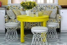 Yellow / by House Beautiful Magazine