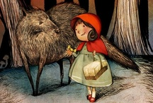 illustration stories-red riding hood