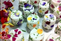 Edible Flowers in Bloom / Flowers aren't just for gardens and vases. They are showing up on plates this Spring!