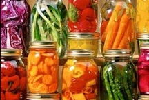 """Canning & Preserving / We love to can and pickle at The Chopping Block. We have classes to show you the tools and techniques to """"put up""""  summer's fruits and veggies so you can enjoy them for months to come."""