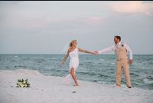Beach Weddings / Wyndham Vacation Rentals has wonderful properties to serve as the backdrop for a memorable beach wedding. The rental properties are capable of hosting everything from small weddings to large receptions. Their locations along the scenic Gulf of Mexico also make them great for an extended stay to incorporate a romantic honeymoon or a vacation for the entire wedding party.