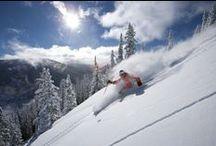 Winter Vacations / Eat. Ski. Sleep. Repeat.