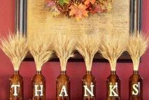 Give Thanks. / Thanksgiving