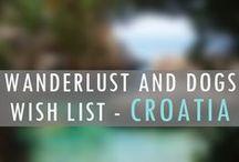 CROATIA Wanderlust Wish List