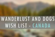 CANADA Wanderlust Wish List