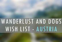 AUSTRIA Wanderlust Wish List