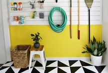 Garages & Mudrooms / by House Beautiful Magazine