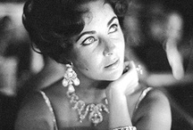 LiZ TaYLoR ~ JeWeLs / Liz had one the most exquisite collections of jewelry and no one looked more exquisite wearing it than her. Her jewelry was unique...sometimes over the top in design, but never on her!  She wore it well, perfectly accessorizing it with her also gorgeous wardrobe! / by BIBAgirl