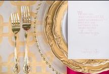 Gold Glam / Gold, Glam, Glitzy, Rich, Wedding Linens - Over The Top Linen, Houston, Texas - www.overthetoplinen.com