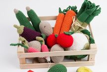 Crochet - Doll's Tea Party