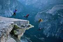 Now that's crazy! / Living on the edge