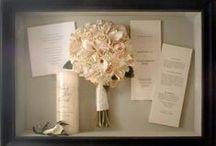 The Big Day / Custom framed wedding photos and memorabilia