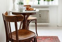 Kitchen / dining room - rustigue style / by Madame Jakobsen