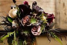 Wedding CenterPieces and Bouquets / Wedding Reception Center Pieces / by Christina Dunn