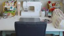 Craft Room Ideas / Ideas for creating the perfect craft space - organization and decor