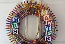 Wreaths / Wreaths ideas for the entire year
