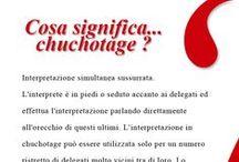 INFO SUI NS SERVIZI / Tutto quello che non sapete sul mondo dei servizi linguistici lo troverete qui!