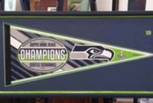 Custom Framed Sports / Sports related framing projects