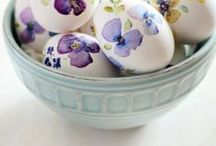 Easter / Inspiration for celebrating Easter - crafts, decor, gifts, eggs, and DIY
