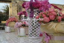 Trabocchi di primavera a San Matteo in Lecce... / cesti e torte di Fiori a Torre Coccaro Beach di Savelletri