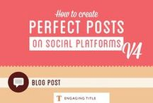 Content Marketing Tips / #socialmedia #socialcontent #contentstrategy #Facebook #Twitter #Instagram #Pinterest #YouTube #LinkedIn
