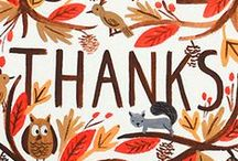 Thanksgiving / Projects, ideas and inspiration for celebrating Thanksgiving.